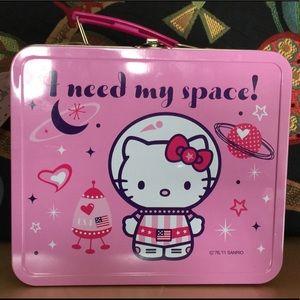 Sanrio Hello Kitty Space Center Lunch Box